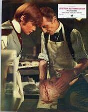 PETER CUSHING FRANKENSTEIN MUST BE DESTROYED 1969 VINTAGE LOBBY CARD #1  HAMMER