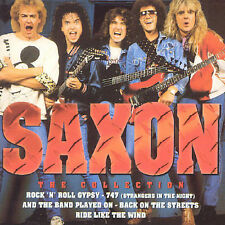 SAXON  The Collection BEST OF MINT CD NETHERLANDS Rock n Roll Gypsy 747