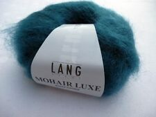 Mohair Luxe Lang Yarns 25g Farbe 0288 petrol Wolle - Mohair + Seide