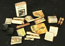 Lot of Miniature Doll House Magic Scrolls Pages and Illustrations Halloween