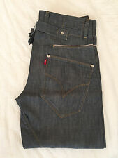 Levi's Engineered Orillo Tira Trasera jeans Levis-azul lavado-W30 L26-RRP £ 90