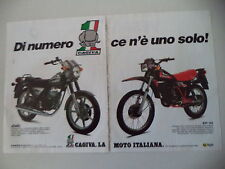 advertising Pubblicità 1983 MOTO CAGIVA ALETTA 125/SXT 125