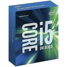 NEW SEALED Intel Core i5-6600K Unlocked 3.5 3.9GHz LGA 1151 CPU OC 4.6 GHz SR2L4