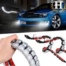 2 x Universal 12 LED  Daytime Running Light Car Rain Fog Day Driving Lamp White