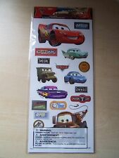NEW- SANDYLION-DISNEY-SCRAPBOOK/CARDMAKING STICKERS- CARS 2