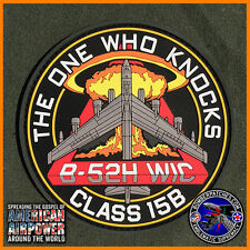 PVC B-52 Weapons School WIC Class 15B Patch 20th 23rd 69th 96th Bomb Squadrons