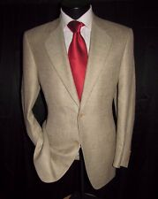Canali for Bloomingdale's Men's 2 Bttn. Silk Blend Plaid Sports Jacket Size 38R