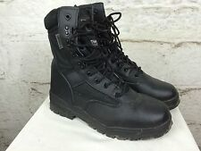Men's Kombat Black Technical Boots Surplus Army Fitness Tough Mudder UK8 (1375)