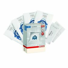 8 PACK GENUINE MIELE GN HYCLEAN VACUUM HOOVER CLEANER DUST BAGS WITH FILTERS