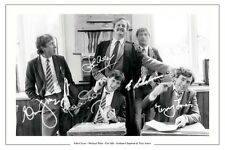 MONTY PYTHON AUTOGRAPH SIGNED PHOTO PRINT JOHN CLEESE MICHAEL PALIN ERIC IDLE +