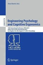Lecture Notes in Computer Science Ser.: Engineering Psychology and Cognitive...