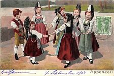 BR36326 Appenzell children enfants folklore dances costume      Switzerland