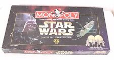 Star Wars Limited Collector's Edition Monopoly 1996 Open Complete Coins & Tokens