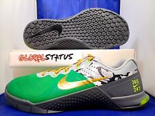 MENS NIKE ID METCON 2 GREEN GREY CAMO PRINTED CROSS FIT SHOES 846027 991 SZ 11