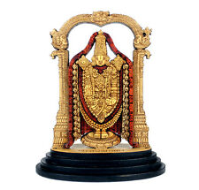 Car Dashboard Statue Hindu God Lord Venkateswara - Balaji Wood Carved figurine