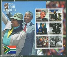 ST. VINCENT GRENADINES  2014  NELSON MANDELA MEMORIAL  SHEET    MINT NH