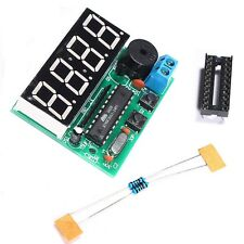 DIY Kits C51 4 Bits Digital Electronic Clock Electronic Production Suite New