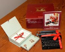 American Girl-Kit's Typewriter Set-RETIRED Version from the AG Collection-EUC