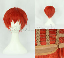 New style Upscale Karma Akabane Cosplay wig costume orange red colour wigs 332C