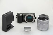 Sony NEX-5N 16.1 MP Digital Camera - FOREIGN - (w/ E OSS 18-55mm Lens) (5-3F)