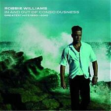 ROBBIE WILLIAMS IN AND OUT OF CONSCIOUSNESS GREATEST HITS 1990-2010 2 CD NEW