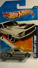 Hot Wheels '67 Shelby GT500 Muscle Mania Silver  # 1of 10