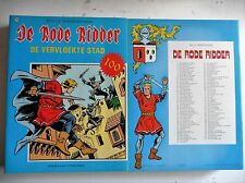 De rode ridder nr 100  EERSTE Druk ongekleurd  1982