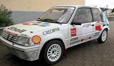 peugeot 205 rallye gr.a concessionnaires peugeot decals stickers adesivi