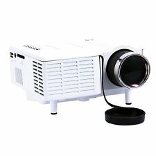 Mini Portable HD LED LCD Projector Home Cinema Theater PC Laptop VGA USB SD HDMI