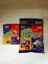 2 PACKS, 1 BOX BEAN BOOZLED JELLY BEANS  1.6oz  AND 1 PACK BEAN BOOZLED 1.9oz