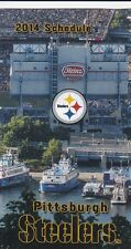 PITTSBURGH STEELERS HEINZ FIELD 2014 TEAM POCKET SCHEDULE