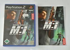 Mission: Impossible - Operation Surma für Sony PlayStation 2 mit Anleitung