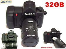 PEN DRIVE PENDRIVE CAMARA DE FOTOS NIKON 32GB 32 GB MEMORIA USB (4 8 16 64 64GB)