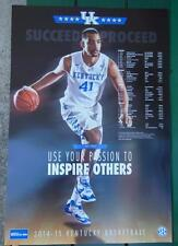 TREY LYLES KENTUCKY WILDCATS BASKETBALL SCHEDULE POSTER SUCCEED PROCEED CHAMPS