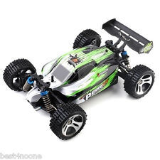 WLtoys A959-A 4WD RC Off-road Racing Car 1:18 RTR 35km/h 2.4GHz 2CH Splashproof