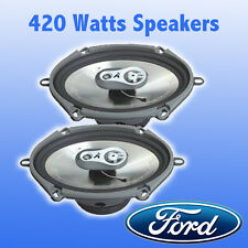 "FORD KA, Transit, Focus, Fiesta 5""x7"" 3 Way Coaxial Car Door Speakers 420W"