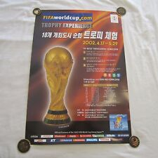 2002 FIFA World Cup FIFA Official Trophy Experience Poster