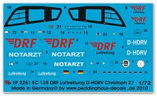 Peddinghaus 2251 1/72 EC 135 DRF Rettungshelicopter Christoph 27 D-HDRV