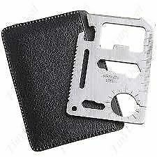 11in1 Pocket Knife Multi Tool Credit Card Emergency Survival Pocket Knife