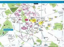 London Olympic Games 2012 Summer Souvenir Map
