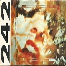 """FRONT 242-TRAGEDY FOR YOU SINGLE VINYL 7"""" 1990 PROMOCIONAL SPAIN GOOD COVER"""