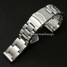 ULTIMATE STEEL BRACELET STRAP FOR PANERAI MARINA MILITARE PAM 47MM WATCH 26mm