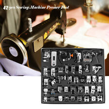 42pcs Household Sewing Machine Presser Foot Feet For Brother Singer Janome