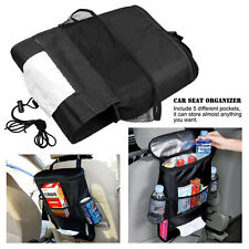 Car Seat Back Organizer Hanger Multi-Pocket Insulation Travel Storage Bag Holder