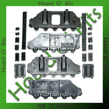 WARHAMMER 40K BIN BITS CHAOS SPACE MARINES PREDATOR - 2x SIDES with TREAD