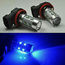 2x 50W Bright Blue H11 CREE LED Fog Daytime Light Lamp bulb HeadLight DRL