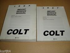 1987 Dodge Plymouth Colt service shop dealer repair manual