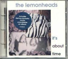 THE LEMONHEADS IT'S ABOUT TIME 4 TRACK CD INCLUDES ACOUSTIC & DEMO TRACKS 1993