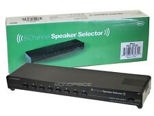 8-Channel Speaker Selector whole house surround sound room selector