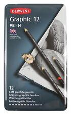 Derwent Graphic Soft 12 Pencil Tin